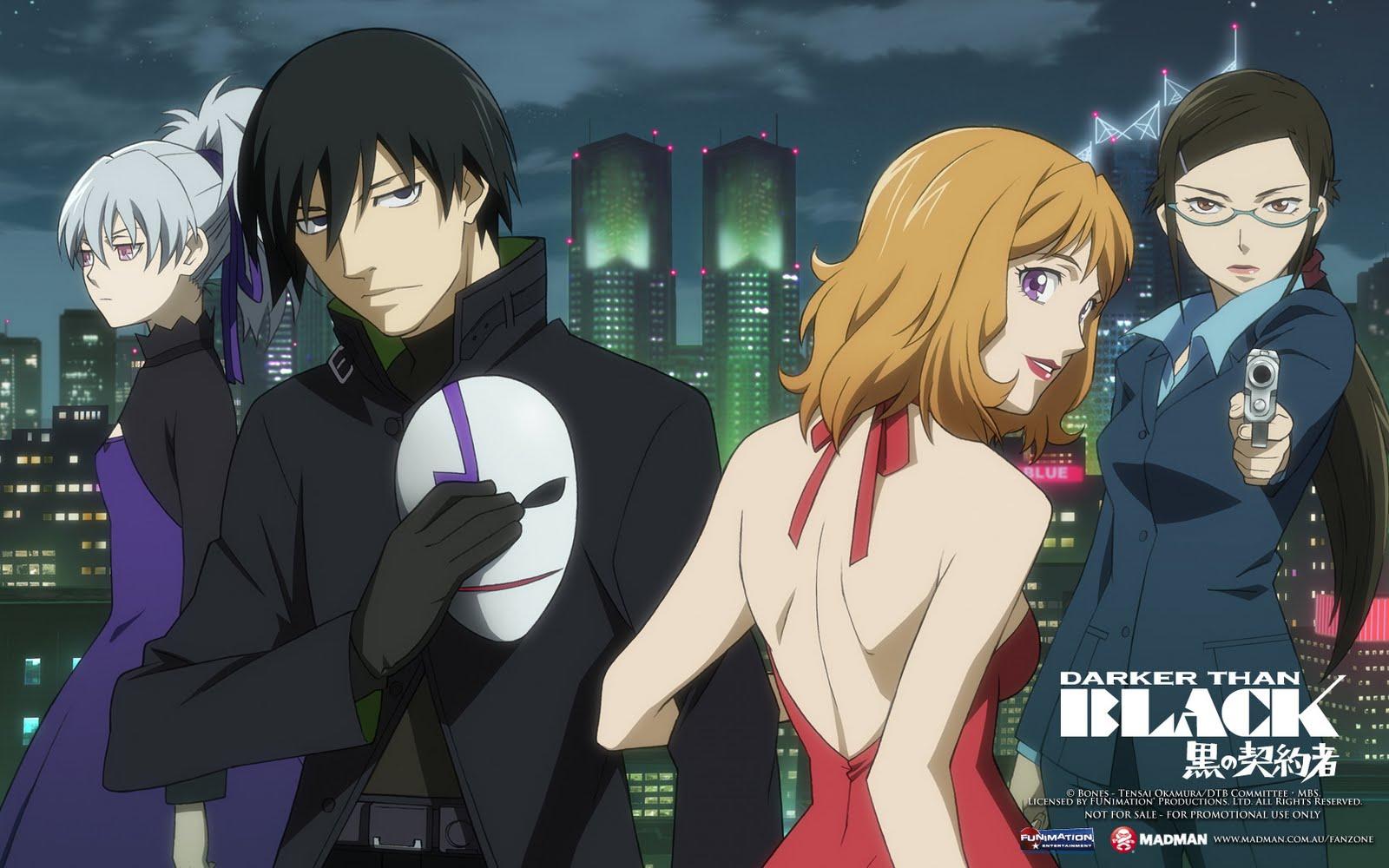 Kết quả hình ảnh cho Darker than Black: Kuro no Keiyakusha